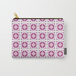 Flamingo Talavera Tiles Carry-All Pouch