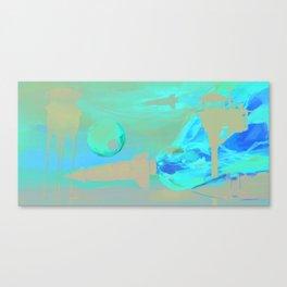 Space Rockets Canvas Print