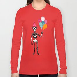 Happy muertos Long Sleeve T-shirt