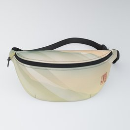 Mountain Sunset Fanny Pack