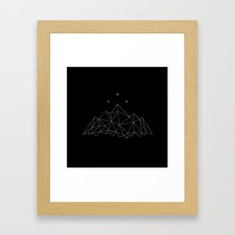 The Night Court insignia from A Court of Frost and Starlight Framed Art Print