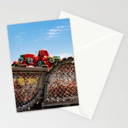End of Lobster fishing season Stationery Cards