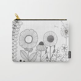 Flowers on parade Carry-All Pouch