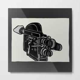 16mm Camera Metal Print