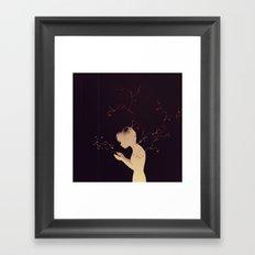 Worlds Apart Framed Art Print