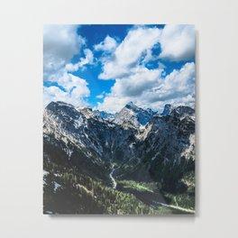 Overcoming Mountains Metal Print