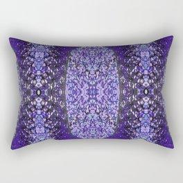 Snake Skin (purple/violet) Rectangular Pillow