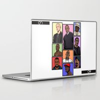 hiphop Laptop & iPad Skins featuring HipHop Legends by Akyanyme