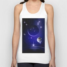 Fantastic yourney into space. Unisex Tank Top