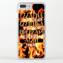 The Names of Aelin Clear iPhone Case
