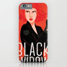 Black Widow iPhone 6s Slim Case