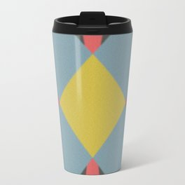 Blue gray Travel Mug