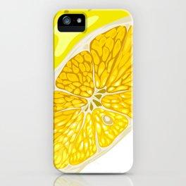 Lemon Slices Graphic Design iPhone Case