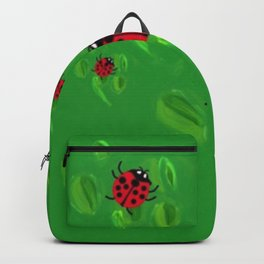 Lucky Lady Bugs of Lucky Seven Backpack