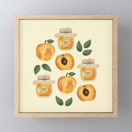 Apricot Jam Framed Mini Art Print