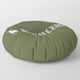Deer: New Mexico Floor Pillow