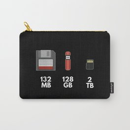 Funny Programming Meme Moores Law Gift Carry-All Pouch