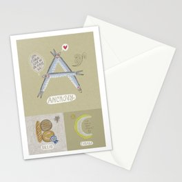 Anchovy ABC Stationery Cards