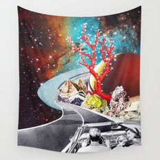 Where the Road Takes Us Wall Tapestry