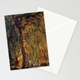 Claude Monet Weeping Willow 1919 Stationery Cards