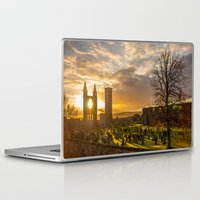 scotland Laptop & iPad Skins featuring Cathedral Scotland by Sierra Whiskey Bravo