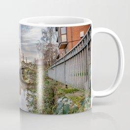 Waterfront path along the River Wensum, Norwich Coffee Mug