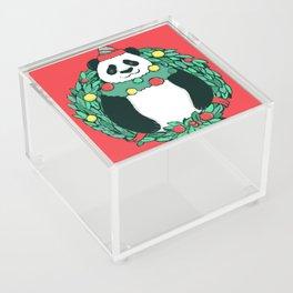Beary Christmas Acrylic Box