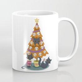 Meowy christmas sugar skulls Coffee Mug