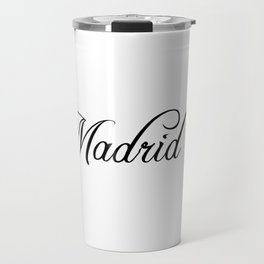 Madrid Travel Mug