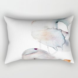 Neutral Space - Mellow Serenity in these Calming Hues Rectangular Pillow