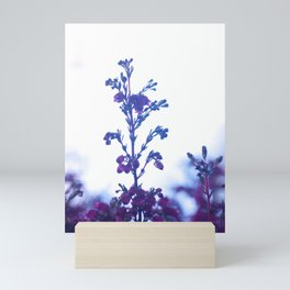 Heather flower #1 #decor #art #society6 Mini Art Print