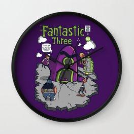 Fantastic Three Wall Clock