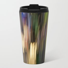 Colorful Bright Light Abstract Travel Mug