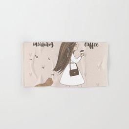Morning Coffee Hand & Bath Towel