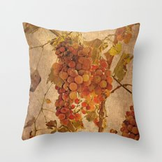 The most noble and challenging of fruits Throw Pillow