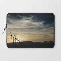 Wind Turbines Landscape Laptop Sleeve