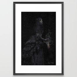 The Mourning Framed Art Print