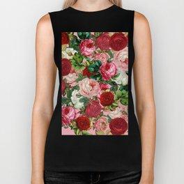 rose bushes Biker Tank