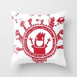 Edinburgh Fringe Throw Pillow