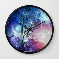 twilight Wall Clocks featuring Twilight by haroulita