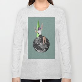 CollageArt :Stranded Long Sleeve T-shirt