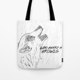 Growl Tote Bag