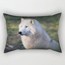 Canis Lupus Arctos II Rectangular Pillow