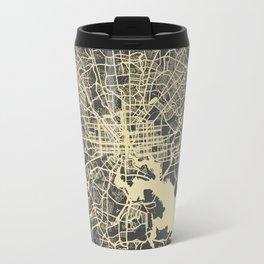 Baltimore map Travel Mug