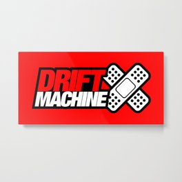 Drift Machine v2 HQvector Metal Print