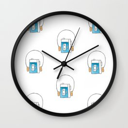 The Electronics / Walkman Wall Clock