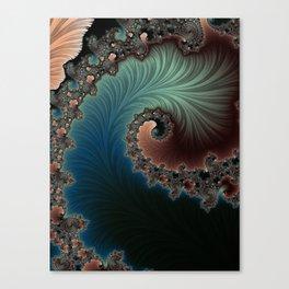 Velvet Crush - Fractal Art Canvas Print