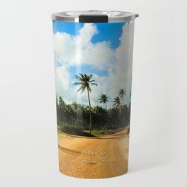 Coconut Trees Travel Mug