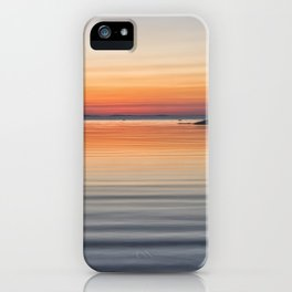 Ripples sea and sky iPhone Case