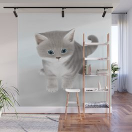 Kitten Wall Mural